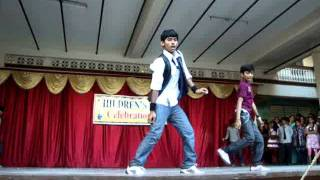 dhoom-2 dance by tasleem ahamed n w.t.vishnu