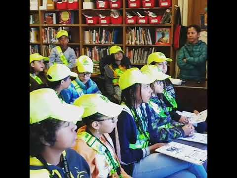 Melrose Leadership Academy safety patrol meeting principal address