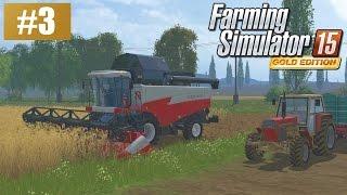 Żniwa na Sosnówce (Farming Simulator 15 GOLD #3), gameplay pl