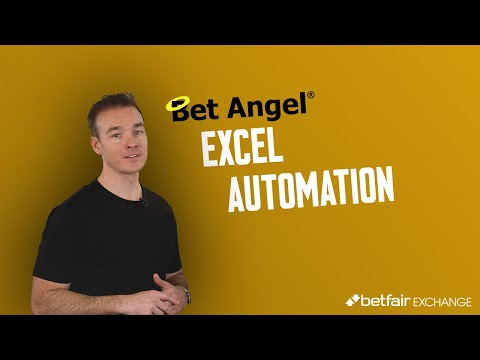 Bet Angel Automation: How You Can Create A Betting Robot With Excel