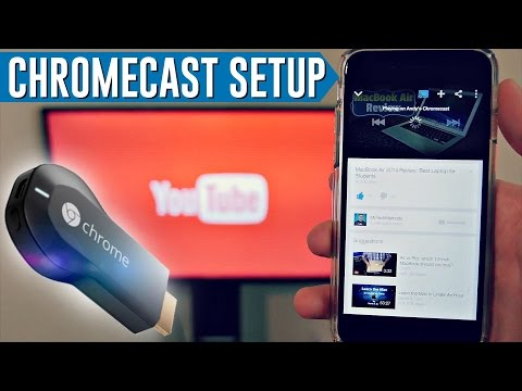 Chromecast Setup How To Install Use Chromecast