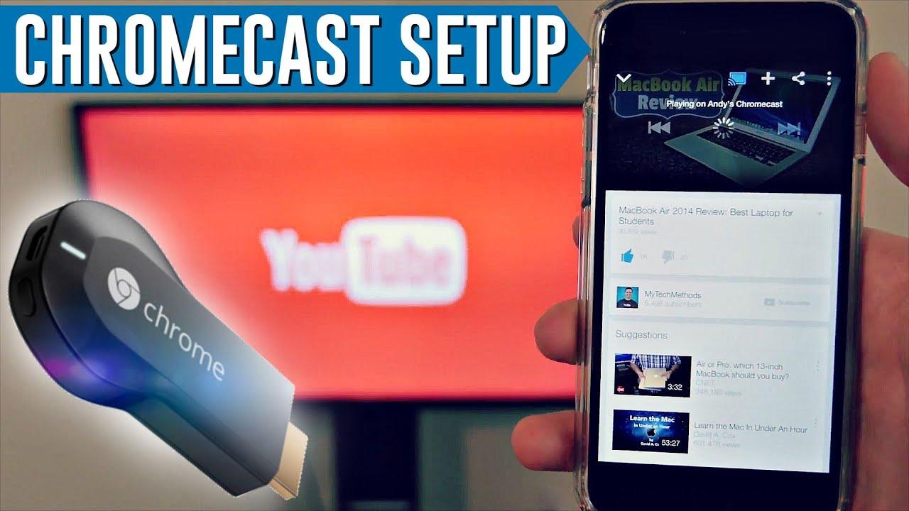chromecast setup how to install use a chromecast [ 1280 x 720 Pixel ]
