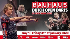 Bauhaus Dutch Open Darts 2020 - Dag 1