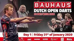 Bauhaus Dutch Open Darts 2020 - Dag 1