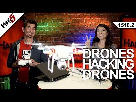 Drones Hacking Drones (Part 2), Hak5 1518.2