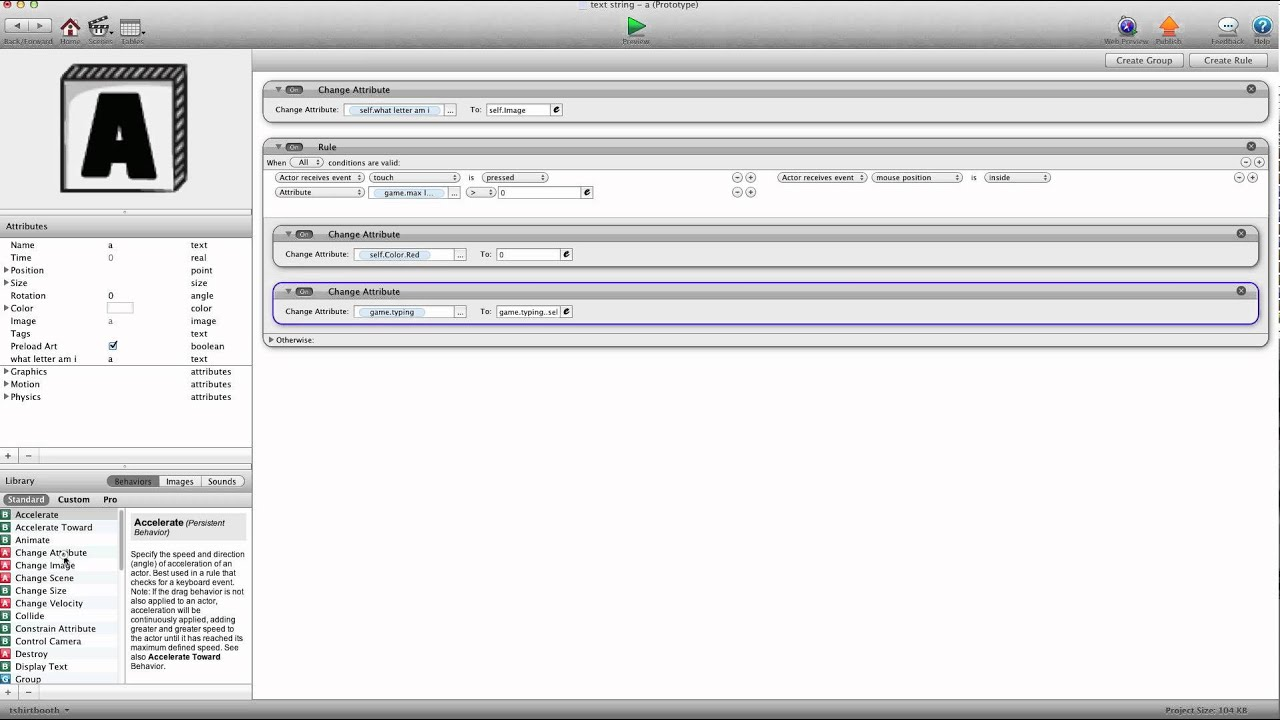 Gamesalad custom fonts - Custom Keyboard 2 Limit Lext String In Gamesalad Video Tutorial