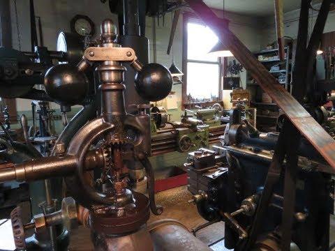 Engine Machine Shop >> Old Steam Powered Machine Shop 32 Steam Engine Rod Bearing