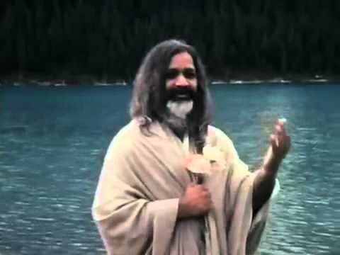 Transcendental Meditation   Maharishi Mahesh Yogi at Lake Louise, Canada, 1968 360p