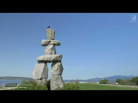 VANCOUVER   BRITISH COLUMBIA , CANADA   A TRAVEL TOUR   4K UHD