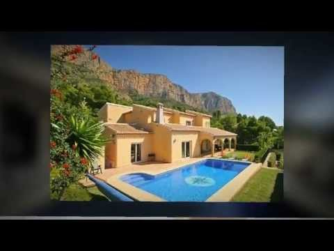 Holiday Villas and Apartments, on the Costa Blanca, Spain.