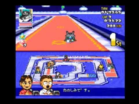 Paradise GP (Crash Race) SD F1 Grand Prix SNES
