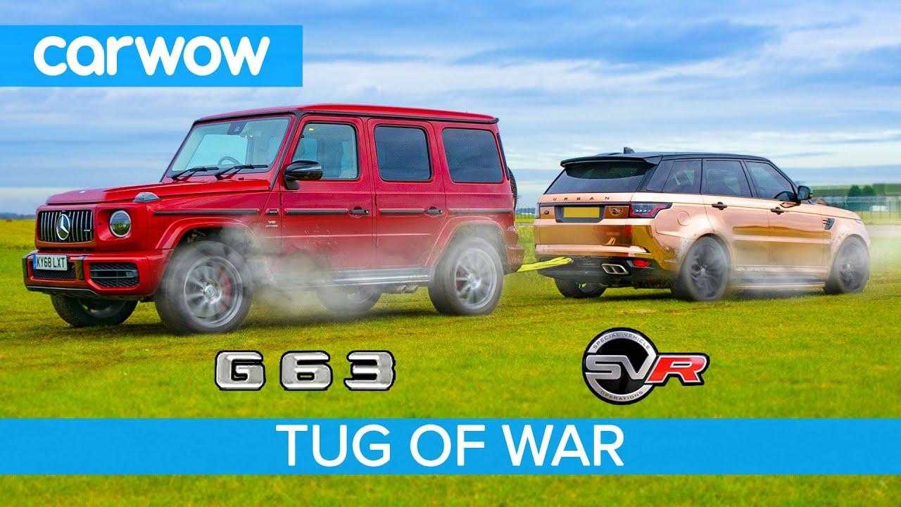 Download AMG G63 vs Range Rover Sport SVR: TUG OF WAR - Mat vs Yianni!