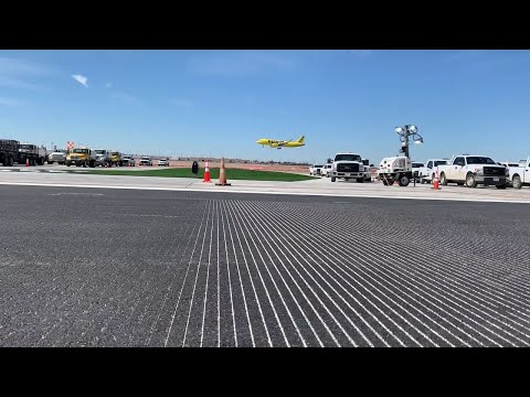 DFW Airport nearly done with $133 million runway upgrade