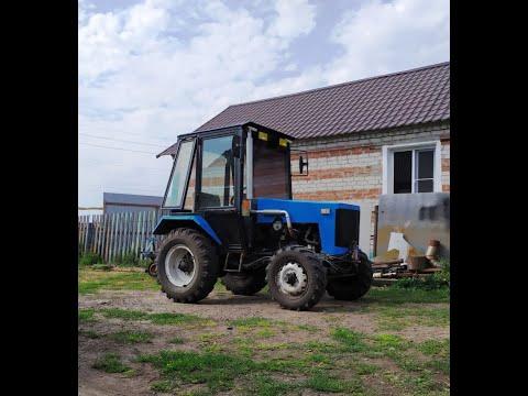 видео: устройство и теххарактеристики полноприводного самодельного трактора