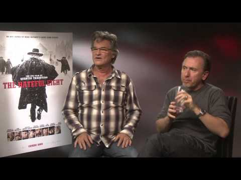 Kurt Russell and Tim Roth talk The Hateful Eight | Empire Magazine