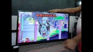 TV Semp 32L2400 com tela de cabeça pra baixo e imagem borrada!