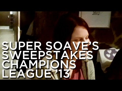 2013-01-24 'Super Soave's Sweepstakes: Champions League 2013'