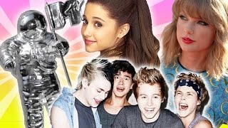 MTV VMAs ☆ Ariana Grande vs. 5SOS vs. Taylor Swift!