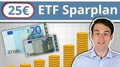 ETF Sparplan: Mit nur 25€ kostenlosen Wertpapiersparplan Schritt-für-Schritt einrichten | Teil 2/2