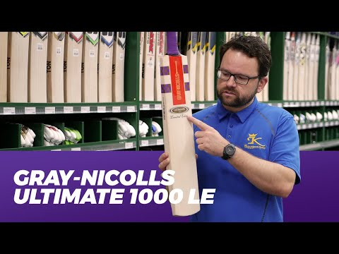 Gray-Nicolls Ultimate 1000 Limited Edition — Cricket Bat Review 2019/20