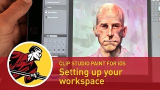 Setting Up Your Workspace - Clip Studio Paint For iPad Pro