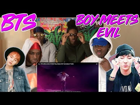 BTS (방탄소년단) WINGS 'Boy Meets Evil' Comeback Trailer - REACTION