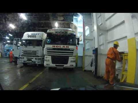 Boarding Ferry From Ireland (Rosslare) To France (Cherbourg)