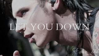 Black Veil Brides - Let You Down [Lyrics]