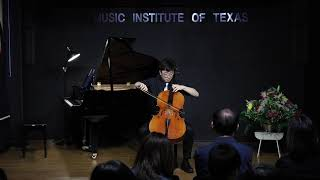 J.S. Bach from Suite No.6 in D Major, Prelude - Bryan Han