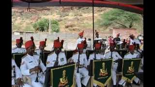 Sainik School Bijapur, Maratha Light Infantry Band at Badami  1