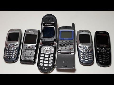 Получил 6 телефонов даром бесплатно. Sony CMD-Z5. Samsung C200. Nokia 6230i. Motorola V180.