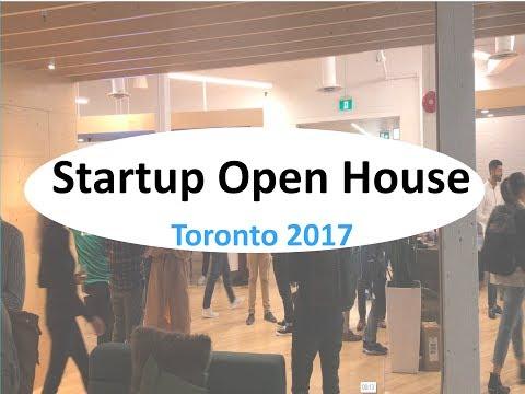 Startup Open House. Toronto 2017