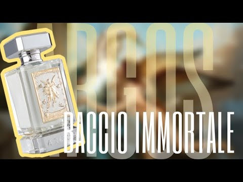 ARGOS BACCIO IMMORTALE | BEST NEW LEATHER FRAGRANCES