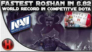 Fastest Roshan in 6.82 | World Record in Competitive Dota 2 by Na'Vi.US
