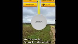 SatFinder 3D Augmented Reality}