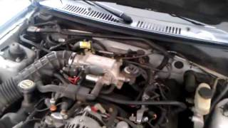 Replacing the idle air control valve on a mustang