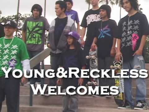 Young And Reckless Kids At Hollenbeck Skatepark