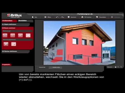 Brillux Farbdesigner Spot Tutorial 02 Youtube