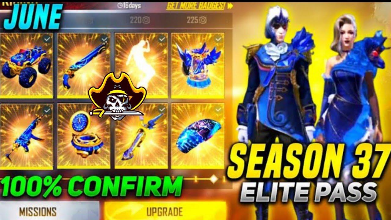 Free fire June elite pass 2021   June month elite pass short review   SPD Gamer