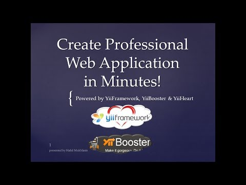 Create Professional Web Application in Minutes