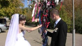 Свадебная прогулка набережная. VIDEOGRITSA.