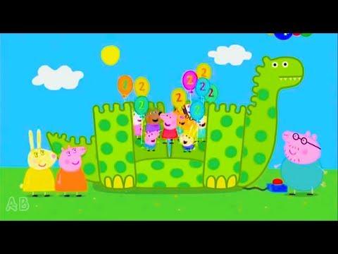 Свинка Пеппа - Как Пепа, Джордж, Мама свинка и Друзья Праздновали День Рождения