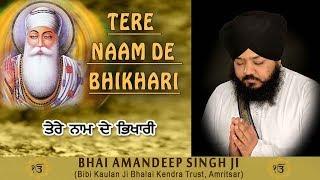 Download TERE NAAM DE BHIKHARI - BHAI AMAN DEEP SINGH JI || PUNJABI DEVOTIONAL || FULL ALBUM || Mp3