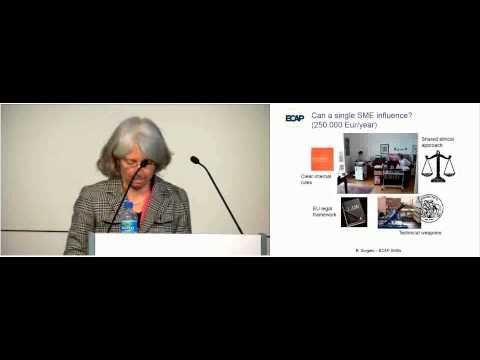 'How do European SMEs influence standards' speech by Barbara Sorgato