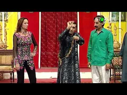 Best Of Zafri Khan, Sajan Abbas and Iftikhar ThakurNew Pakistani Stage Drama Full Comedy Funny Clip