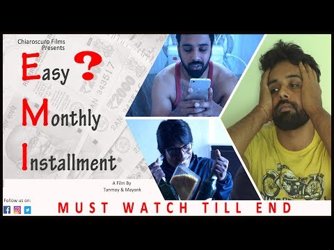 Easy? Monthly Installment | Hindi Comedy Short Film | Credit Card | Loans #Chiaroscuro#