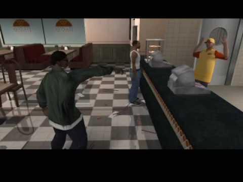 GTA: San Andreas CUTSCENE 003 Ryder