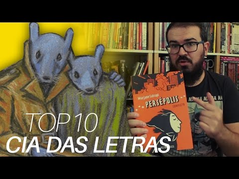 Top 10: Melhores quadrinhos da CIA DAS LETRAS | Desvendando Catálogo #03
