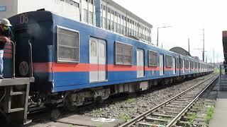 フィリピン国鉄南方線203系 ブルメントリット駅発車 PNR Metro South Commuter Train