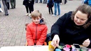 Как нарисовать соника на лице.Jak k tomu Sonic the face(Детский праздник в Теплице ( Чехия ),рисование на лице.наша фирма поможет вам в получении визы в Чехию,подбе..., 2016-03-21T09:40:49.000Z)